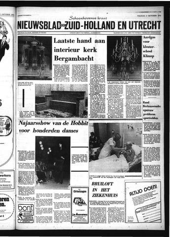 Schoonhovensche Courant 1974-10-04
