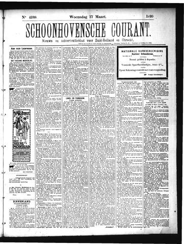 Schoonhovensche Courant 1920-03-17
