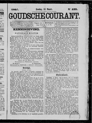Goudsche Courant 1867-03-31