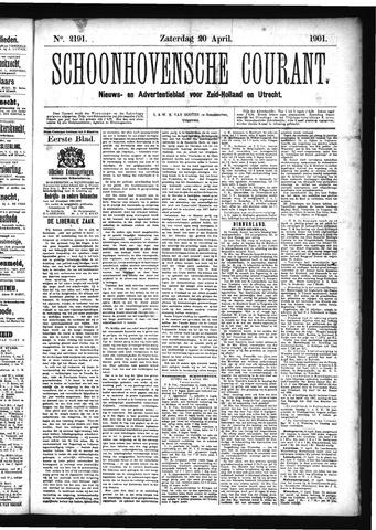 Schoonhovensche Courant 1901-04-20