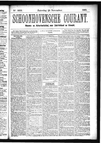 Schoonhovensche Courant 1901-11-23
