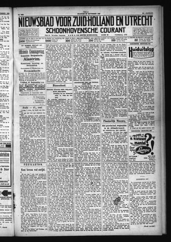 Schoonhovensche Courant 1929-09-23