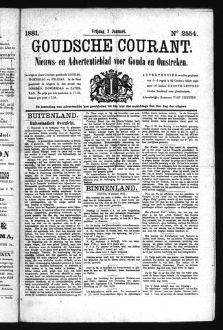 Goudsche Courant 1881-01-07