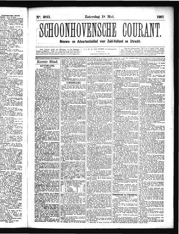 Schoonhovensche Courant 1907-05-18