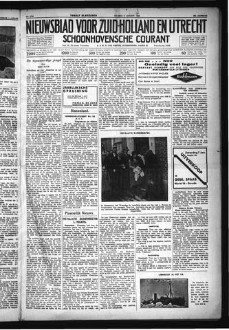 Schoonhovensche Courant 1933-01-06