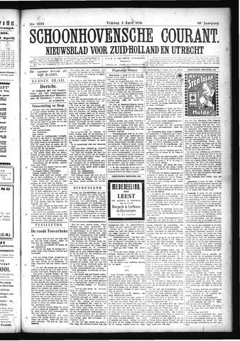 Schoonhovensche Courant 1926-04-02