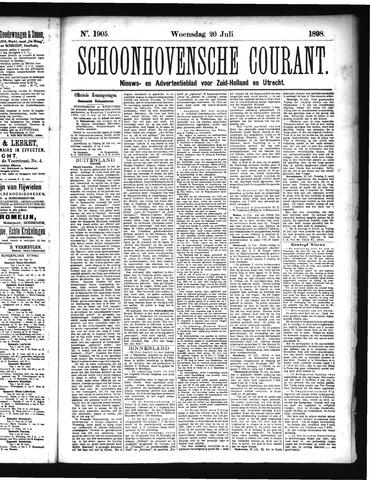 Schoonhovensche Courant 1898-07-20