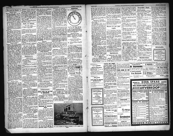 Schoonhovensche Courant 1931-01-08