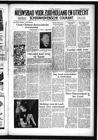 Schoonhovensche Courant 1953-09-07