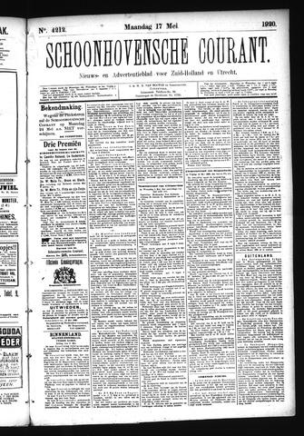 Schoonhovensche Courant 1920-05-17
