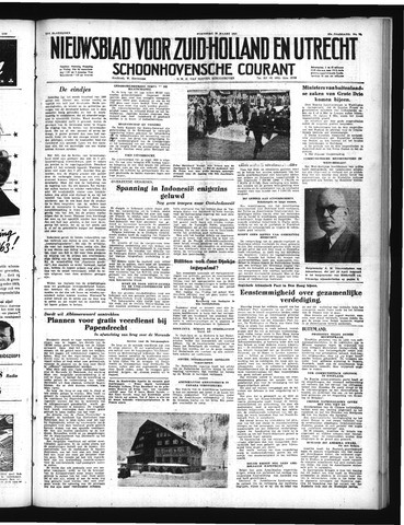 Schoonhovensche Courant 1950-03-29