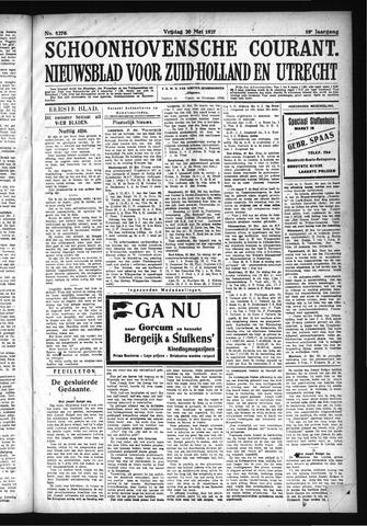 Schoonhovensche Courant 1927-05-20