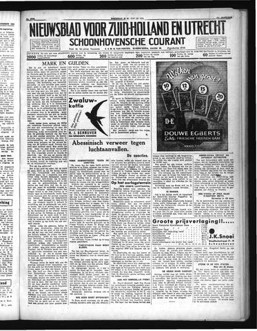 Schoonhovensche Courant 1935-11-20