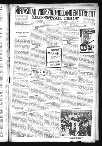 Schoonhovensche Courant 1932-02-26