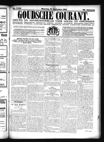 Goudsche Courant 1930-09-29