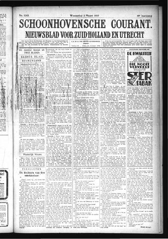 Schoonhovensche Courant 1927-03-02