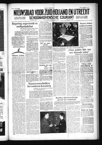 Schoonhovensche Courant 1955-02-04