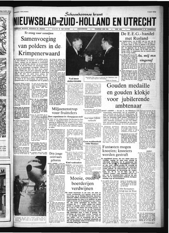 Schoonhovensche Courant 1972-06-05