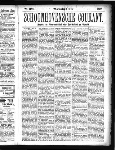 Schoonhovensche Courant 1897-05-05