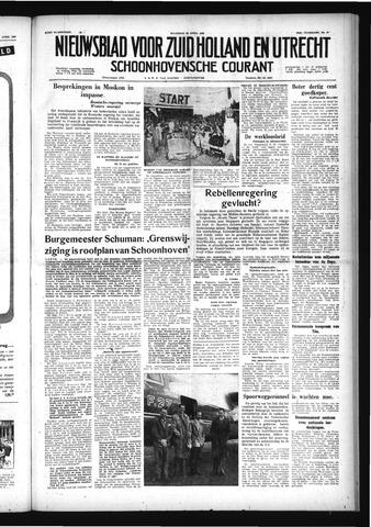 Schoonhovensche Courant 1958-04-28