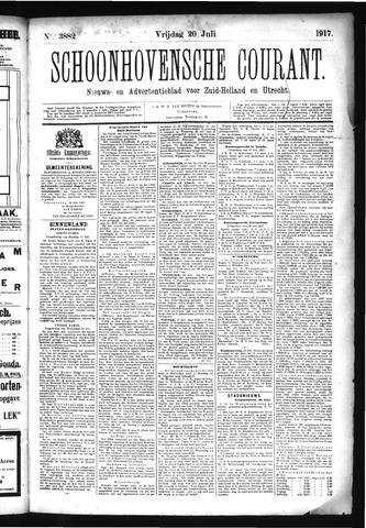 Schoonhovensche Courant 1917-07-20