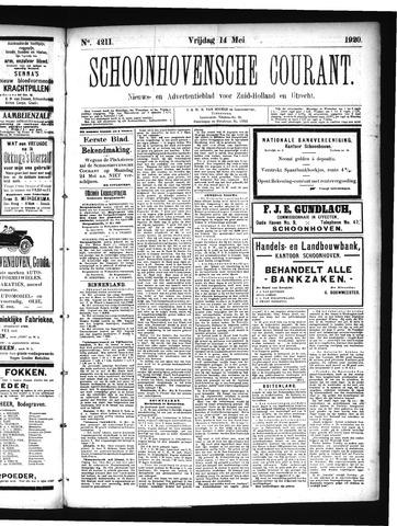 Schoonhovensche Courant 1920-05-14