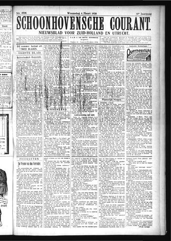 Schoonhovensche Courant 1925-03-04