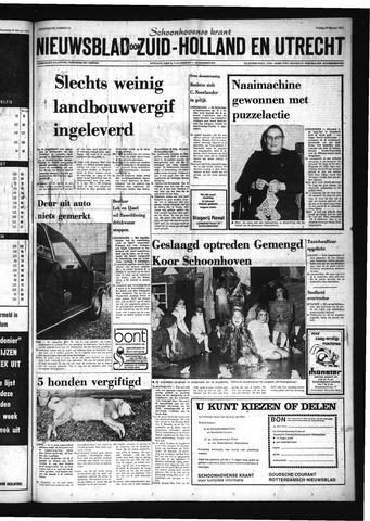 Schoonhovensche Courant 1974-02-22