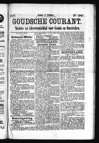 Goudsche Courant 1877-02-18