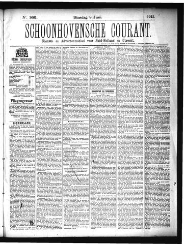 Schoonhovensche Courant 1915-06-08