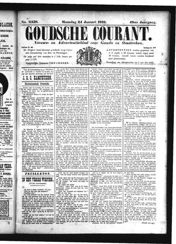 Goudsche Courant 1910-01-24