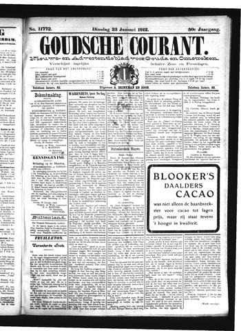 Goudsche Courant 1912-01-23