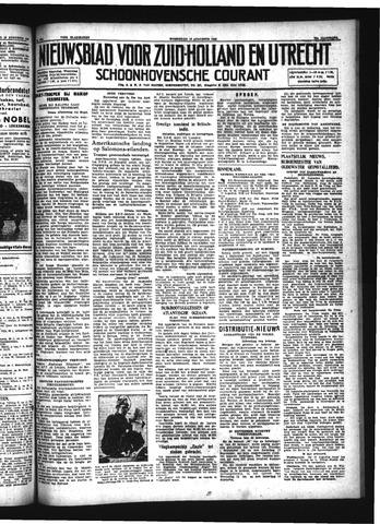 Schoonhovensche Courant 1942-08-12