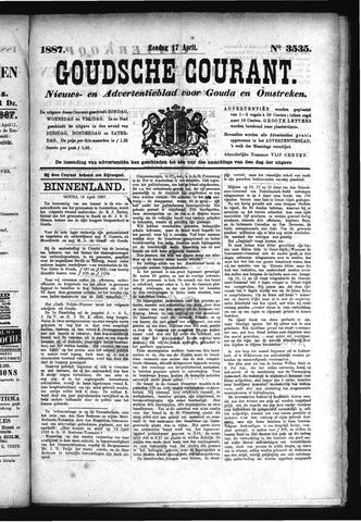 Goudsche Courant 1887-04-17