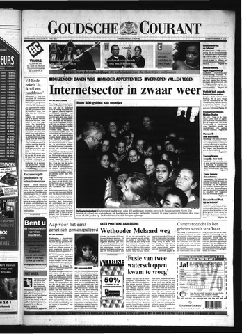 Goudsche Courant 2001-01-12