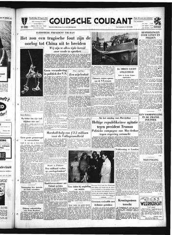 Goudsche Courant 1951-04-12