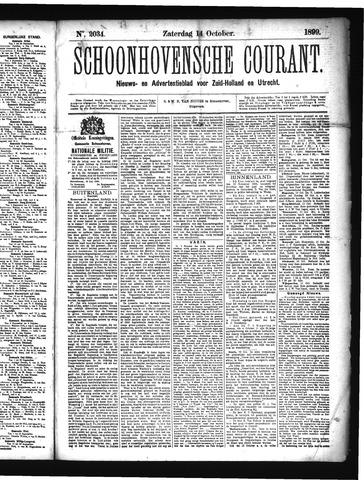 Schoonhovensche Courant 1899-10-14