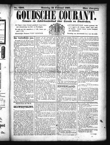 Goudsche Courant 1897-02-22