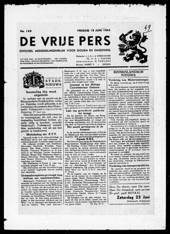 De Vrije Pers 1945-06-15