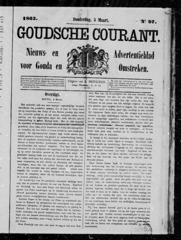Goudsche Courant 1863-03-05