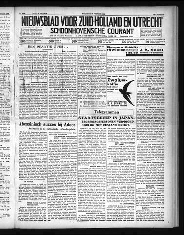 Schoonhovensche Courant 1936-02-26