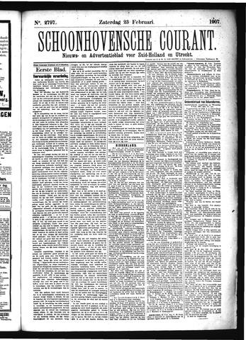 Schoonhovensche Courant 1907-02-23