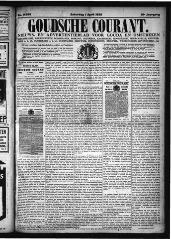 Goudsche Courant 1922-04-01