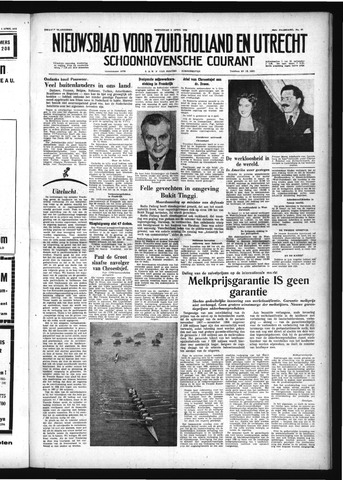 Schoonhovensche Courant 1958-04-09