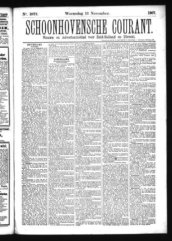 Schoonhovensche Courant 1907-11-13