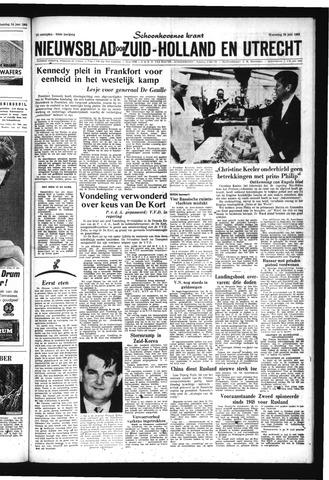 Schoonhovensche Courant 1963-06-26