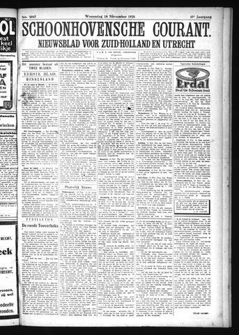 Schoonhovensche Courant 1925-11-18