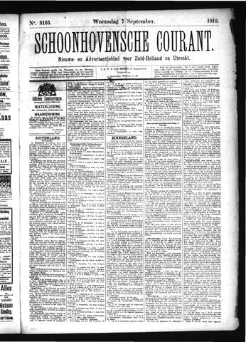 Schoonhovensche Courant 1910-09-07