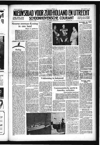 Schoonhovensche Courant 1954-08-13