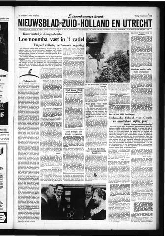 Schoonhovensche Courant 1960-09-09